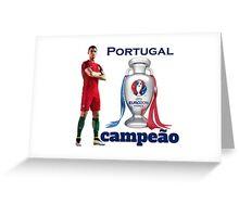 Campeão Portugal - Euro 2016 Greeting Card
