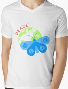 Just Make Peace Not Others Mens V-Neck T-Shirt