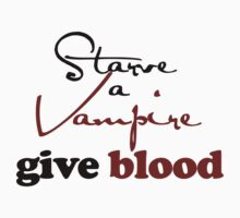 Starve a vampire by Boogiemonst