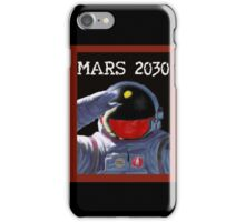 Mars 2030 - Concept Poster iPhone Case/Skin