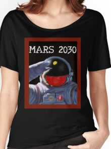 Scifi - Mars 2030 - Concept Poster Women's Relaxed Fit T-Shirt