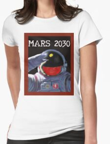 Mars 2030 - Concept Poster Womens Fitted T-Shirt