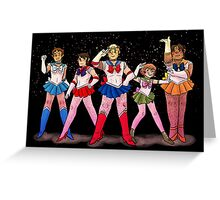Sailor Voltron Greeting Card
