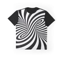 Trippy Optical Illusions Graphic T-Shirt