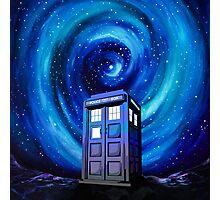 Tardis Vortex Starry Night Photographic Print