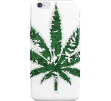 Cannabis T-shirt - Wonderfull Leaf 2 iPhone Case/Skin