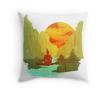 Where Giants Rest Throw Pillow