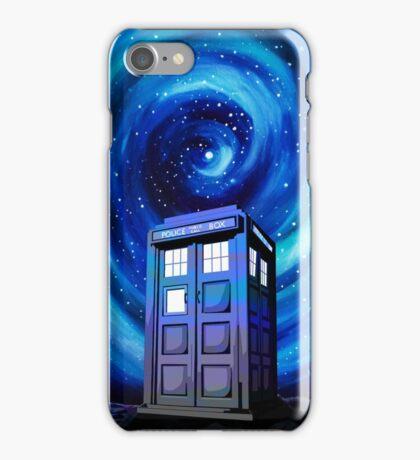 Tardis Vortex Starry Night iPhone Case/Skin
