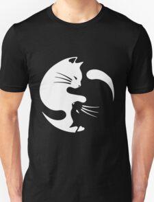 yin yang cat T-shirt  Unisex T-Shirt