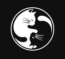 Yin Yang cat  T-shirt 3 Unisex T-Shirt