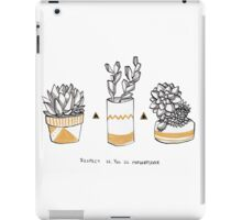 Rude Succulents iPad Case/Skin