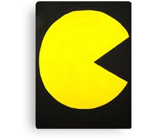 Pac-Man Canvas Print