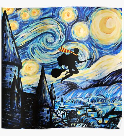 Potter Starry Night Poster