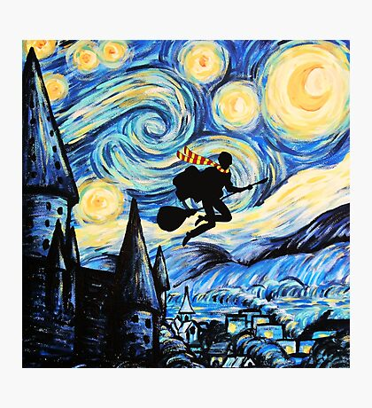 Potter Starry Night Photographic Print