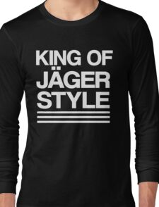 King of Jäger Style Long Sleeve T-Shirt