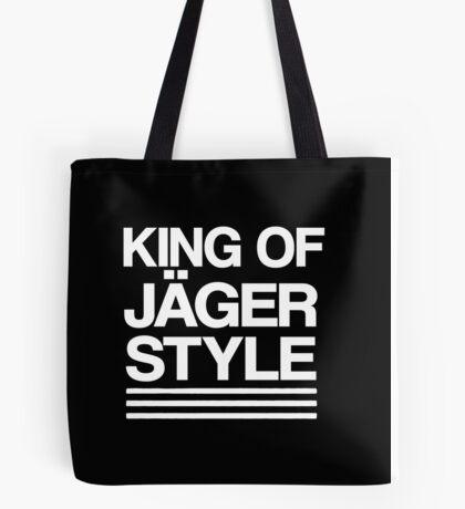 King of Jäger Style Tote Bag