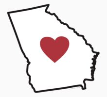 I Love Georgia by Carolina Swagger