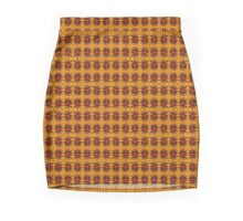 Segmented Sun #4 Mini Skirt