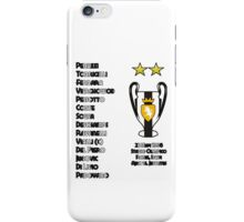 Juventus 1996 Champions League Winners iPhone Case/Skin