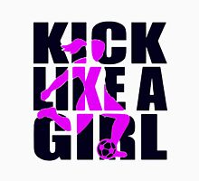 Soccer T-shirt  - Kick like a Girl  Unisex T-Shirt