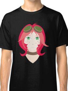 Steampunk Goggles Girl Classic T-Shirt