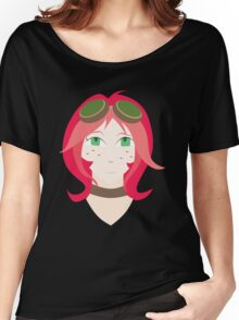 Steampunk Goggles Girl Women's Relaxed Fit T-Shirt