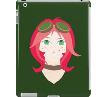 Steampunk Goggles Girl iPad Case/Skin