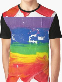 """Energetic Abstractions - """"Colour Blast"""" Graphic T-Shirt"""