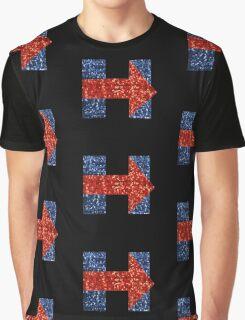sequin hillary clinton Graphic T-Shirt