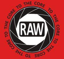 RAW To The Core! Kids Tee