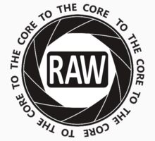 RAW To The Core! Baby Tee