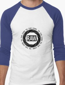 RAW To The Core! Men's Baseball ¾ T-Shirt
