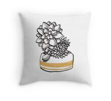 Succulent 3 Throw Pillow