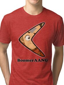 Boomer-AANG The Last AirBender Tri-blend T-Shirt