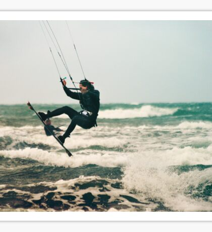 Kite Surfing Sticker