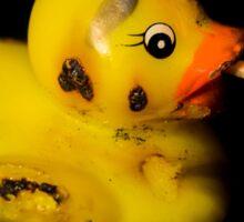 Burning Duck Sticker