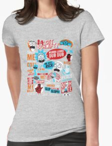 Morty & Rick  Womens Fitted T-Shirt