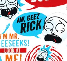 Morty & Rick  Sticker