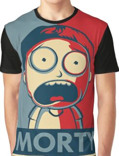 Morty & Rick 3 Graphic T-Shirt