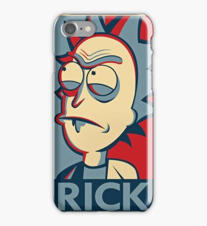 Morty & Rick 4 iPhone Case/Skin