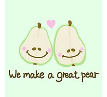 We make a great pear Photographic Print