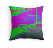 Cooling Metal Two Throw Pillow