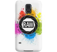 RAW To The Core! Samsung Galaxy Case/Skin