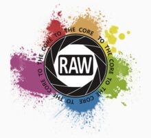RAW To The Core! Kids Tee