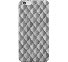 Feather Armor Scales - Silver iPhone Case/Skin