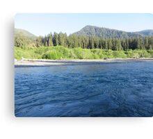 Pacific Northwest River Canvas Print