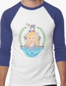 Leslie Knope Men's Baseball ¾ T-Shirt