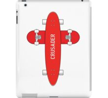 Skate Crusader iPad Case/Skin