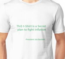 A secert plan to fight inflation Unisex T-Shirt
