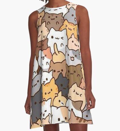 kitty cats A-Line Dress